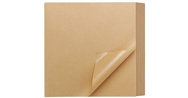 200 Pcs Kraft Brown Deli Butcher Papers,Dry Waxed Deli Paper Sheets,Hamberger Sandwich Wraps,Wrapping Tissue,Food Basket Liners,Squares Deli Paper Sheets