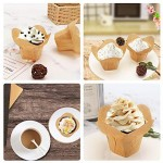 100Pcs Cupcake Muffin Liner, Eusoar 1.3 Ounce Baking Cups, Cupcake Holder, Muffin Pan Cups, Ramekin Holders, Home Party Bakery Baking Store Uses