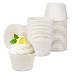 Cupcake Muffin Liners, Eusoar 60pcs Disposable Cupcake ramekins, Paper Cupcake Baking Cups, Little Baking Cups, Cupcake Ramekin Holder Cups, Ramekins for Baking