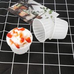 Cupcake Muffin Liners, Eusoar 60pcs Disposable Cupcake ramekins, Paper Cupcake Baking Cups, Little Baking Cups, Cupcake Ramekin Holder Cups, Ramekins for Baking