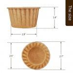 Muffin Liners, Eusoar 60pcs Disposable Cupcake Ramekins Cups, Cupcake Baking Cups, Little Paper Cups, Cupcake Ramekin Holder Cups, Ramekins for Baking