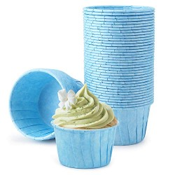 Muffin Liners, Eusoar 50pcs 3.5oz Cupcake Liners, Cupcake Baking Cups, Christmas Cupcake Liners Wrappers, Cupcake paper, Paper Cupcake Liners holder, Disposable Ramekins, Muffin Pan Baking Cups