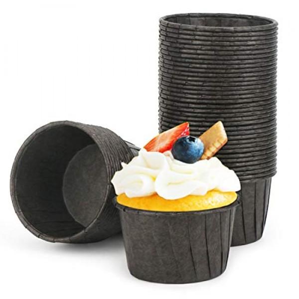 Cupcake Paper Baking Cups, Eusoar 50pcs 3.5oz Cupcake Liners, Christmas Muffin Cupcake Liners, Cupcake Wrappers, Cupcake paper, Paper Cupcake Liners Holder, Disposable Ramekins, Muffin Pan Baking Cups