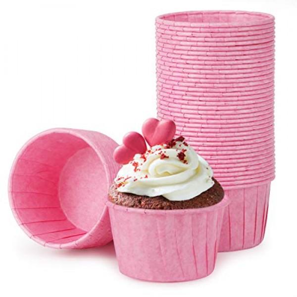 Cupcake Liner, Eusoar 50pcs 3.5oz Cupcake Paper Baking Cups, Muffin Liners, Christmas Cupcake Liners, Cupcake Wrappers, Cupcake Paper, Paper Cupcake Liners Holder, Disposable Ramekins, Muffin Pan